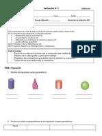Evaluacion Matemática 4to Geometria