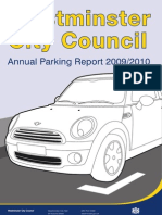 LB Westminster  Annual Parking Report 2010