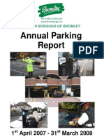 LB Bromley Parking Annual Report 20072008