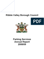 Ribble Valley Parking Services Annual Report 2008-09