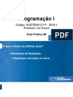 Programacao I 2019.2 A06