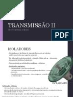 isoladores transmissao