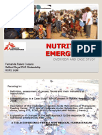 Nutritional Emergencies