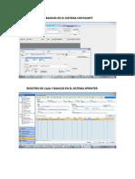 Registro de Caja y Bancos en El Sistema Contasoft