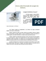 Treinamento Interno Sobre Prevenção de Lavagem de Dinheiro