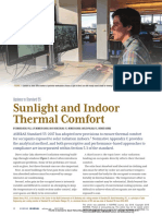 ASHRAE Journal - Sunlight and Indoor Thermal Comfort