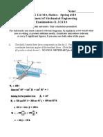 Exam1 Solution