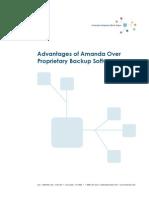 Advantages of Amanda Over Proprietary Backup