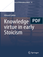 (Studies in the History of Philosophy of Mind 10) Håvard Løkke (auth.) - Knowledge and virtue in early Stoicism-Springer Netherlands (2015).pdf