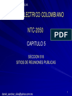 presentacion capitulo 5 NTC 2050