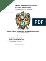MANEJO Y CONTROL DE PARCELA DE ALFALFA (Medicago sativa) CON DISTINTOS FERTILIZANTES