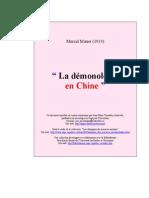 Mauss, Marcel - Demonologie Chine (Fra)