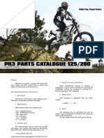 AJP MOTOS - PR3 Part List 125/200