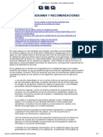 Capítulo 5 - Resumen y Recomendaciones