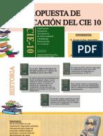 Dx. CIE10 Clasificacion