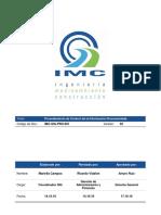 MDCH-SST-PRO-001 Procedimiento de Control de La Información Documentada V02