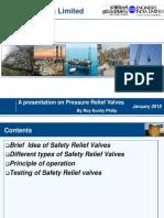 Safety Relief Valves-Presentation by EIL