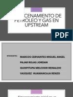 Almacenamiento de Petroleo y Gas Natural- Grupo c