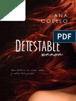 Detestable Error - Ana Coello