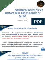 Noções de Organização Política e Jurídica Para Profissionais de Saúde