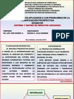 Láminas - Sistema y Matriz de Impactos Cruzados - Julio m. Macias