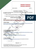 Subrayado , Estructura Del Átomo Tarea