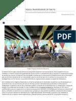 Intervención Sociocomunitaria Revitalizando Un Barrio