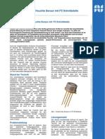 Kalibrierte, präzise, digitale Feuchtesensoren mit I2C Schnittstelle - Fachartikel Sensoren / ASIC