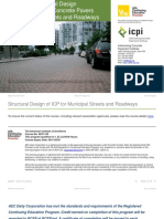 EC (118FC2019-1h) - 190905 - AEC + ICPI - Structural design of interlocking concrete pavers for municipal streets and roadways