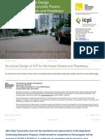EC (118FC2019-1h) - 190905 - AEC + ICPI - Structural design of interlocking concrete pavers for municipal streets and roadways