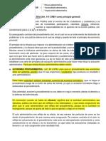Garantias Administrativas - Contencioso Administrativo VENEZUELA