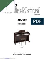Casio AP-80R Service Manual