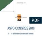 ASPO 2010 Programma