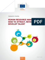 PES Thematic Paper Human Resource Management