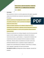 El Diagnóstico Psicológico Formacion de PosgradoCongr Metrop2011