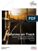 CRISIL Infra Advisory Reforms on Track Accelerating Indian Railways June2017 Copy