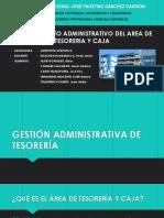 Procedimiento Administrativo Del Area de Tesoreria y Caja
