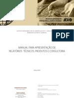Manual Para Apresentação de Relatórios