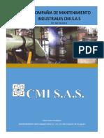 Brochure - Compañia de Mantenimiento Industrial Cmi Sas (Reparado) - Copia - Copia