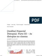 Distopias_ Parte III – as Distopias No Cinema