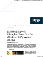 Distopias_ Parte IV – Os Clássicos Distópicos No Cinema 2