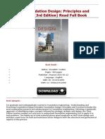 PDF Foundation Design Principles and Pra