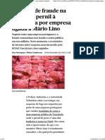Suspeita de Fraude Na Venda de Pernil à Venezuela Por Empresa Ligada a Mário Lino