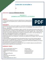 DETERMINACIÓN CUANTITATIVA DE PROTEÍNAS