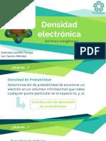 Densidad electrónica presentación