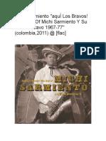 Michi Sarmiento