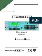 TX RVR TEX 300 LCD