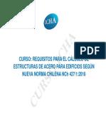 Actualizacion NCh427 Presentación Carlos Peña L
