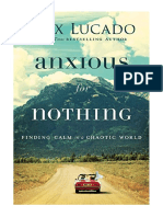 [2017] Anxious for Nothing by Max Lucado | Finding Calm in a Chaotic World | Thomas Nelson