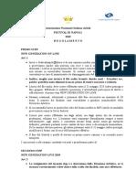 FDN regolamento 2019